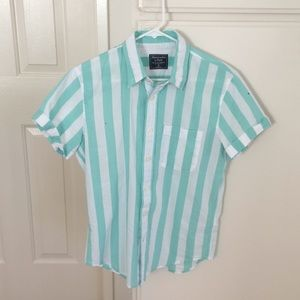 Abercrombie and Fitch Stripe Shirt XS